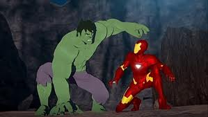 Anthony Stark (Earth-904913) and Bruce Banner (Earth-904913) from Iron Man Armored Adventures Season 1 23 001