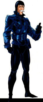 Black Fox (Thief) (Earth-616) from Official Handbook of the Marvel Universe A-Z Update Vol 1 1 0001