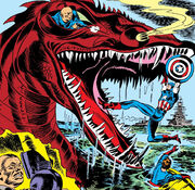 Dragon of Death from Captain America Comics Vol 1 5 001