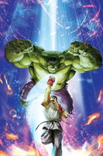 Generations Banner Hulk & The Totally Awesome Hulk Vol 1 1 Marvel vs. Capcom Variant Textless