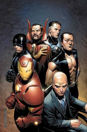 New Avengers Illuminati Vol 2 1 Textless