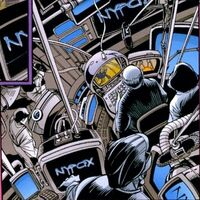 NyFax (Earth-928) 2099 A.D. Apocalypse Vol 1 1