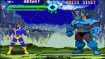 Scott Summers (Earth-30847) and En Sabah Nur (Earth-30847) from X-Men vs. Street Fighter 001