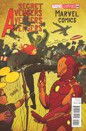 Secret Avengers Vol 1 26 Art Appreciation Variant