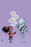 Superior Iron Man Vol 1 1 Baby Variant Textless
