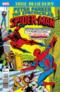 True Believers Peter Parker, The Spectacular Spider-Man Vol 1 1