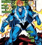 Blackagar Boltagon (Earth-616) faces off against Terrigen enhanced Kree from Inhumans the Great Refgure Vol 1 1