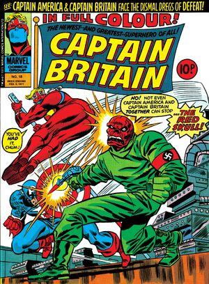 Captain Britain Vol 1 18