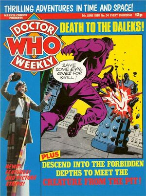 Doctor Who Weekly Vol 1 34