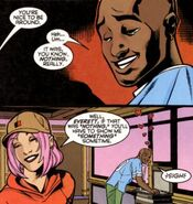 Everett Thomas (Earth-616) and Gaia (Earth-616) from Generation X Vol 1 45 0001