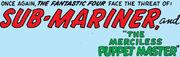 Fantastic Four Vol 1 14 Title