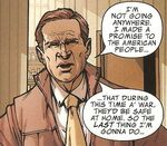 George W. Bush (Earth-616) from Avengers The Initiative Vol 1 2 001