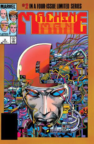 Machine Man Vol 2 2
