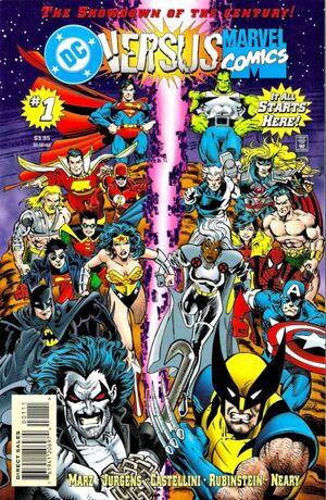 Marvel Versus DC Vol 1 1