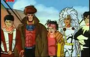 Shiro Yoshida (Earth-92131), Jean-Paul Beaubier (Earth-92131), and X-Men (Earth-92131) from X-Men The Animated Series Season 1 7 001