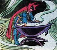 Stephen Strange (Earth-616) and Cauldron of the Cosmos from Marvel Two-In-One Vol 1 91 002