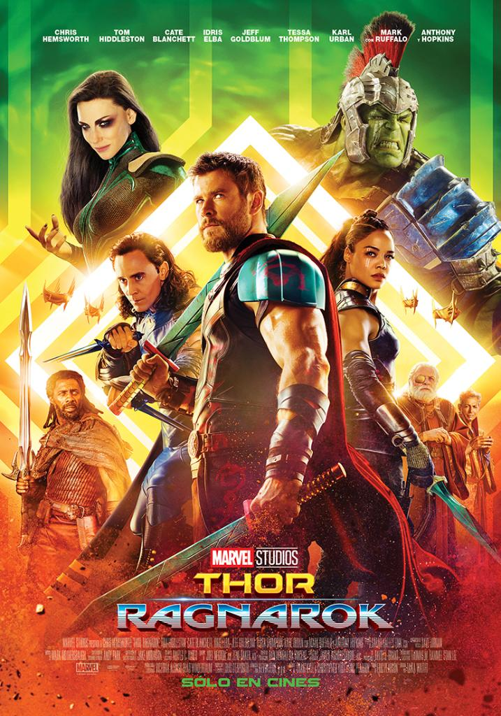 Image - Thor Ragnarok poster 005.jpg   Marvel Database ...