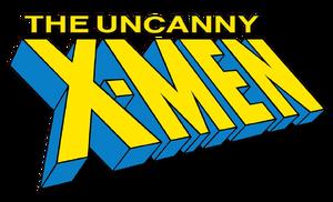 Uncanny X-Men (2018) logo
