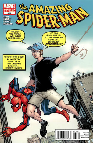 File:Amazing Spider-Man Vol 1 669 Cards Comics and Collectibles Exclusive Variant.jpg
