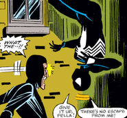 Black Fox (Thief) and Peter Parker (Earth-616) from Amazing Spider-Man Vol 1 255 001