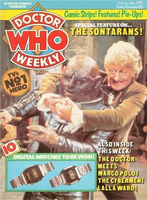 Doctor Who Weekly Vol 1 6