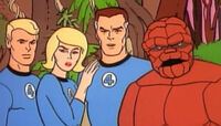 Fantastic Four (Earth-700089) from Fantastic Four (1967 animated series) Season 1 3 0001