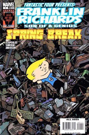 Franklin Richards Spring Break Vol 1 1