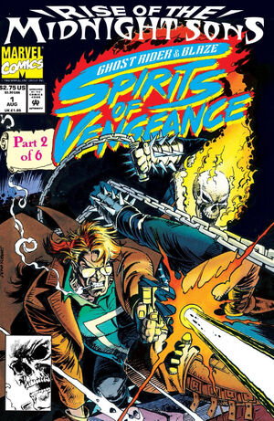 Ghost Rider Blaze Spirits of Vengeance Vol 1 1