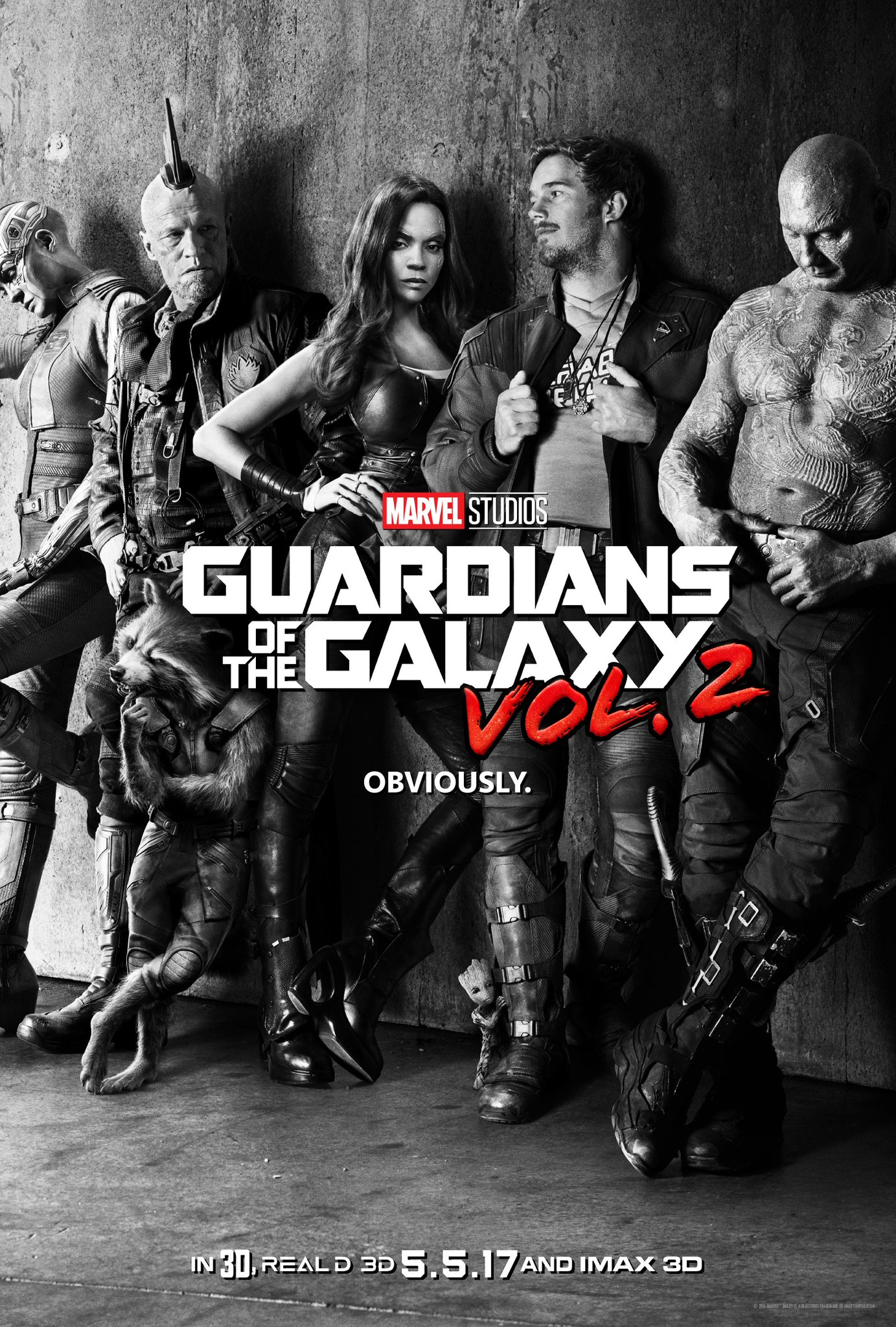 Image - Guardians of the Galaxy Vol. 2 (film) poster 001 ...