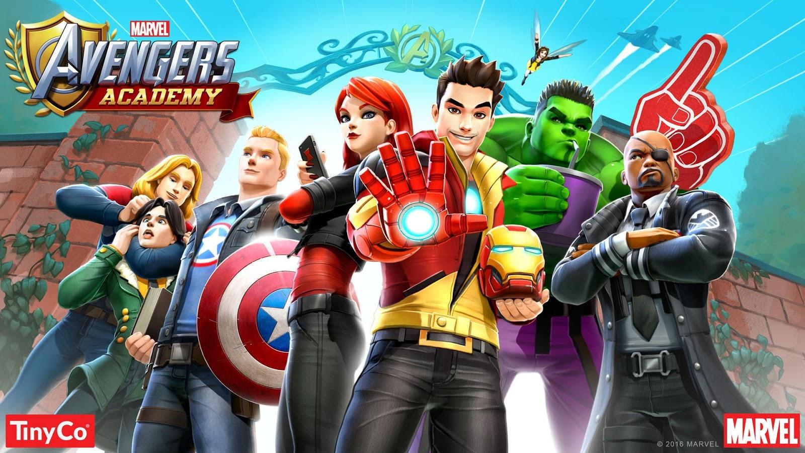 Marvel Avengers Academy astuce et triche