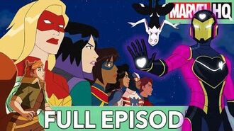 Marvel Rising Heart of Iron Starring Sofia Wylie, Ming-Na Wen & Dove Cameron