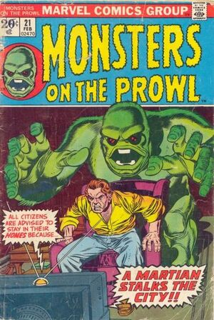 Monsters on the Prowl Vol 1 21