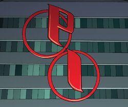 Parker Industries (Earth 616) Logo from Amazing Spider Man Vol 4 3 001