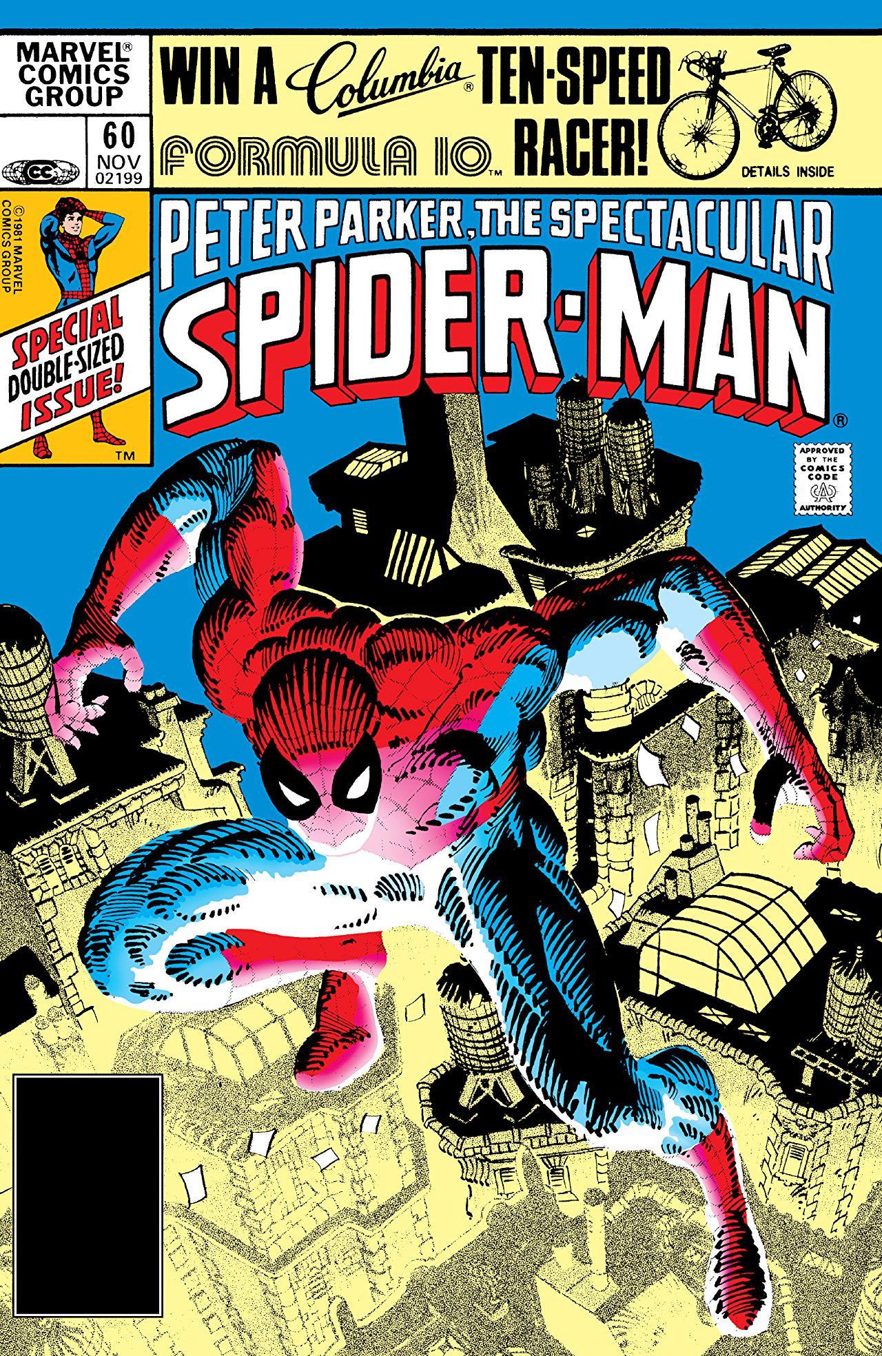 Peter Parker, The Spectacular Spider-Man Vol 1 60