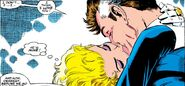 Reed Richards (Earth-616) seduced by De'Lilah from Fantastic Four Vol 1 349