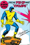 Scott Summers (Earth-616) Pin-Up from X-Men Vol 1 6 0001