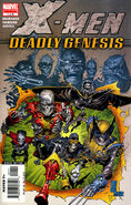 X-Men Deadly Genesis Vol 1 1