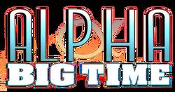 Alpha Big Time (2013) logo