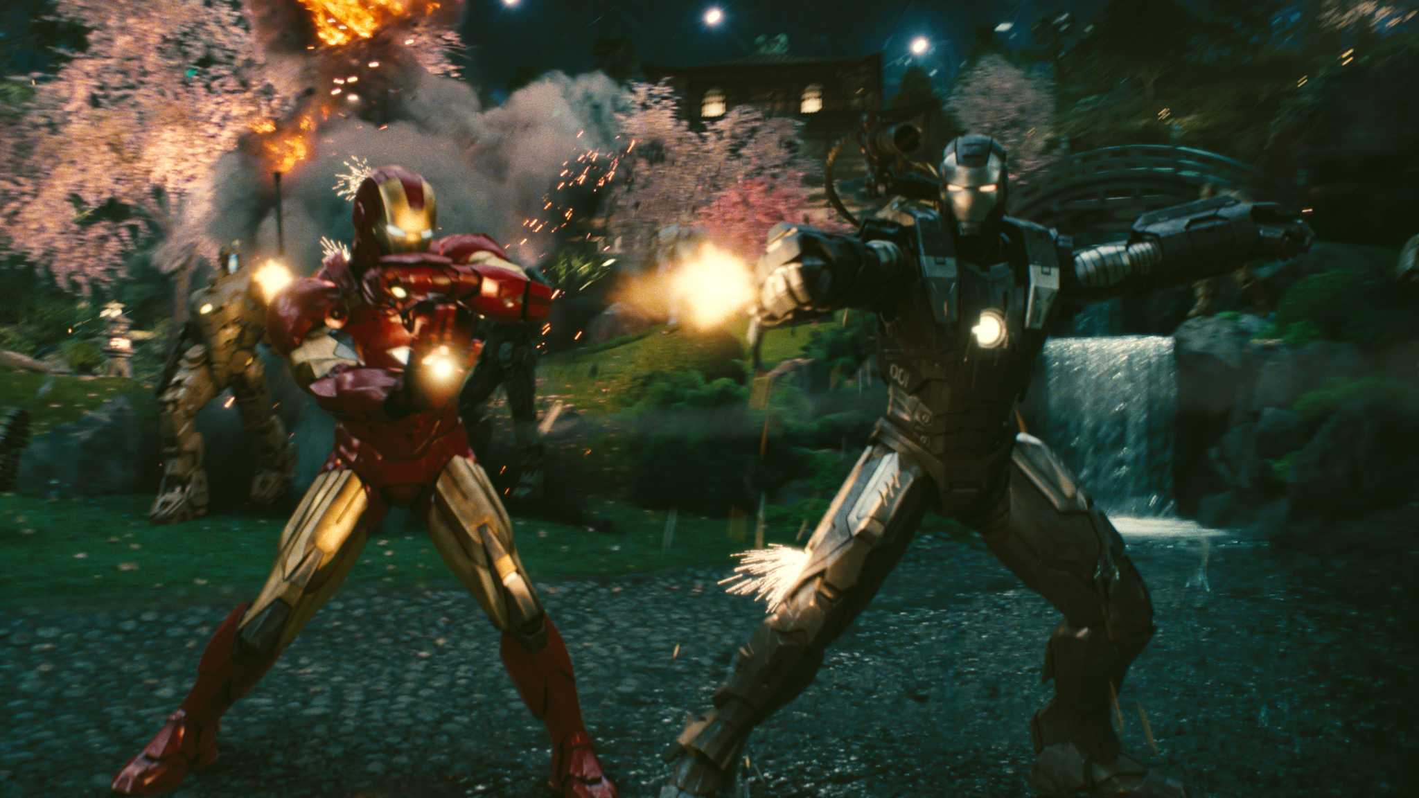 Anthony Stark (Earth-199999) and James Rhodes (Earth-199999) from Iron Man 2 (film) 002