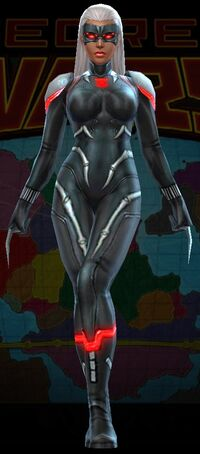 Black Widow Secret Wars 2099 Uniform from Marvel Future Fight 001