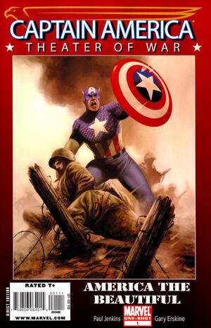 Captain America Theater of War - America the Beautiful Vol 1 1