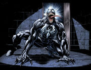 Edward Brock Jr. (Earth-96283) and Venom (Symbiote) (Earth-96283) from Spider-Man 3 The Black Vol 1 1 001