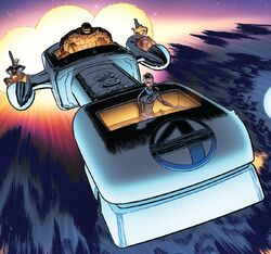 Fantasti-Car MK II from Fantastic Four Vol 6 6 002