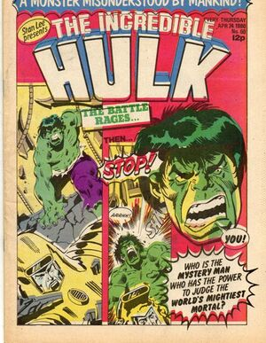 Hulk Comic (UK) Vol 1 60