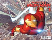 Invincible Iron Man Vol 3 1 Wraparound