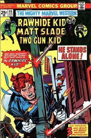 Mighty Marvel Western Vol 1 40