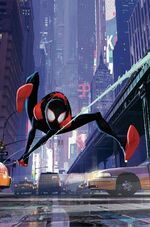 Miles Morales Spider-Man Vol 1 1 Animation Variant Textless