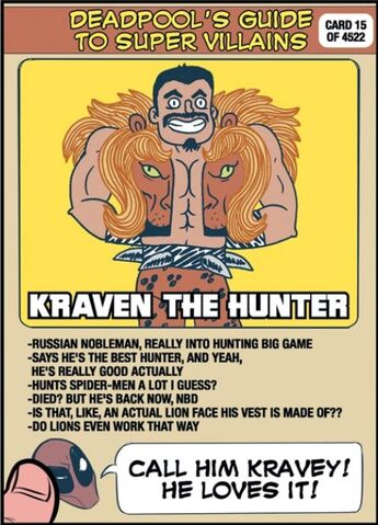 File:Sergei Kravinoff (Earth-616) on Deadpool's Guide to Super Villains Cards from Unbeatable Squirrel Girl Vol 1 1.jpg