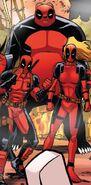 Deadpool Corps (Multiverse) from Deadpool Kills Deadpool Vol 1 3 001