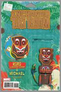 Enchanted Tiki Room Vol 1 2 Action Figure Variant